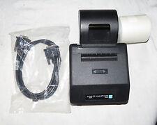 Hypercom Invoice Printer P8F & Paper Roll & Electric Cord