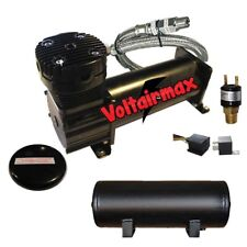 Air Compressor 480 Black voltairmax 3Gal Air Tank Drain 120 on 150 off Switchxzx