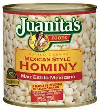 Juanita's Mexican Style Hominy 25 oz