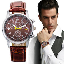 New Fashion Mens Luxury Cool Quartz Wristwatch Perfect Gift + Extra Battery
