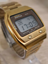 SEIKO VINTAGE DIGITAL LCD WATCH 1977 A039-5019 NEW OLD STOCK - MINT!!