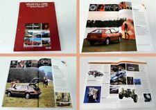 Vauxhall Opel Monza Manta ... Towning Guide 2x Prospekt 1982/84 Anhänger/Camper