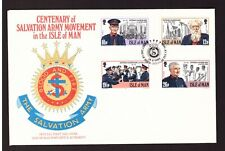 Isle of Man 1983 FDC Salvation Army cover