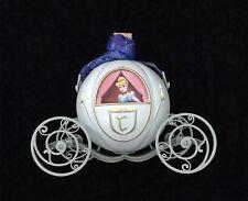 Disney DLR Diamond 60th Cinderella Carriage Popcorn Bucket Teal Blue / Green NEW