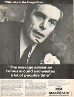 1969 Original Advertising' Twa Trans World Airlines Company Aerial Marketair