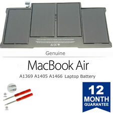 Brand New Genuine A1405 Apple Battery 13 MacBook Air A1369 Mid 2011 & A1466 2012