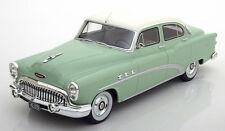 1953 Buick Special 4-Door Tourback Sedan Light Green by BoS Models LE 504 1/18
