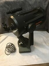 Celestron C8 8 Inch SCT Black Tube Telescope With Fork Mount Starbright Coating