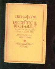 Die Deutsche Buchmalerei 1923