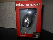 NEW TOTES LED HEADLAMP, WORKSHOP, ONE SIZE FITS ALL, PIVOTING LIGHT