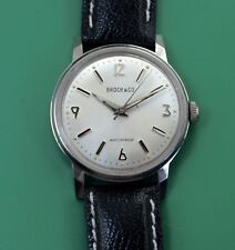Vintage 50's Classic Style Private Label By Croton STAINLESS STEEL Men's  Watch