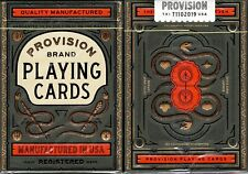 Provision Playing Cards Poker Size Deck USPCC theory11 Custom Limited Sealed New