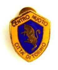 Distintivo Con Smalti Centro Nuoto Città Di Torino cm 1,3 x 1,7
