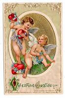 1911 Vintage John Winsch Schmucker Valentines Cupid Antique Postcard (RARE)