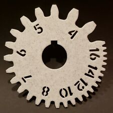 Gear Tooth Diametral Pitch Gauge - (14.5° Pressure Angle) - 4-16 Dp