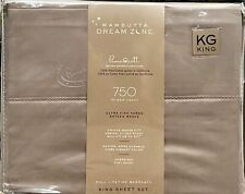 Wamsutta - 😴Dream Zone😴 - 750 Thread Count - King Sheet Set - Grey - **NEW**