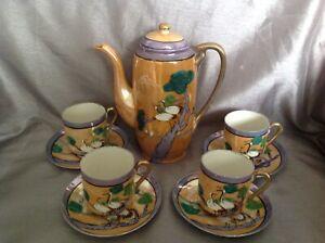 Japanese Hand Painted China Part Tea Set