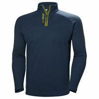 Helly Hansen Mens HP Half Zip Pullover Fitted Stretch Sweater Quick-Dry Small