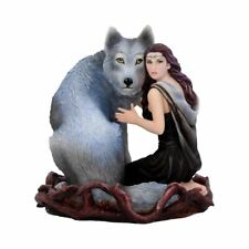 Nemesis Now Soul Bond Anne Stokes Figurine 17cm Grey Resin B4052K8