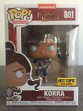 Funko Pop! Avatar The Legend of Korra Hot Topic Exclusive #801