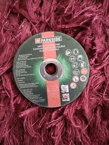 PARKSIDE cutting & grinding discs 10 pieces set