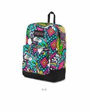 Jansport Superbreak Mens & Womens Backpacks Rucksack - Black Multi
