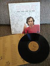"""JOAN MANUEL SERRAT CADA LOCO CON SU TEMA LP 12"""" VINILO 1983 G+/G+ SPAIN EDITION"""