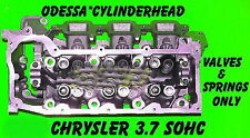 JEEP DODGE LIBERTY DAKOTA 3.7 SOHC CYLINDER HEAD VAL&SPR ONLY RIGHT SIDE REBUILT