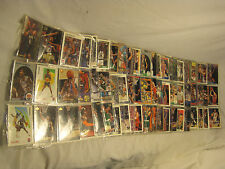 Basketball card lot mixed 20+ folder NBA Upper Deck Skybox Fleer cards collect $