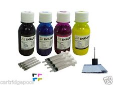 4X4OZ Pigment Refill ink kit for HP 950 951 Officejet Pro 8100 8600 +Plugs/Syr