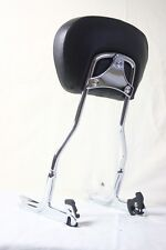 Harley Softail Deluxe FLSTN Detachable Passenger Sissy Bar Upright w/ Backrest
