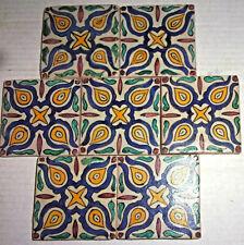 7 Vintage 1930s California Tiles