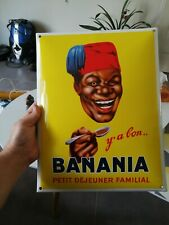 Plaque Émaillée Banania Édition Clouet