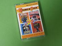 Zeppelin 4x4 Combat Pack #3 Amstrad CPC 4 Game Compilation (SCC)