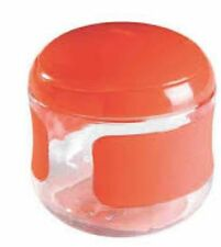 OXO Tot 150 ml Capacity Red Flip Top Snack Cup
