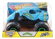 Hot Wheels VHTF 2016 Monster Jam Truck Blue CRUSHSTATION Scale 1 24