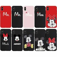 Mr. Mrs. Mouse Mickey Minnie Phone Case Cover Couple Lover Skin For iPhone XsMax