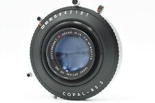 Goerz APOCHROMAT ARTAR Red Dot 14 in. f/9 Lens w/ Copal No. 3 Shutter  #P0776