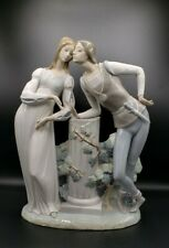 "Large Lladro Romeo & Juliet Figurine, Retired, 17"" Tall x 13"" Wide"