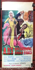 A.D.3 Operazione Squalo Bianco (Rod Dana) Italian Film Poster Locandina 60s