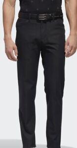 NEW! Adidas Adipure 5-Pocket Golf Pants- Black- Multiple Sizes
