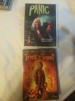 Panic + Trick R Treat dvd  Horror Htf Oop Rare 80s  creature b cult feature