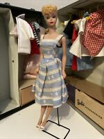 Vintage Doll Barbie #5 PONYTAIL 1961 With Travel Case And Lots Of Clothes