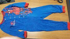 boys spiderman all in one pyjama suit 87cm high