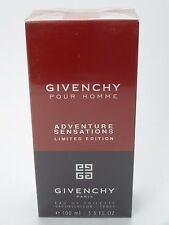 GIVENCHY POUR HOMME ADVENTURE SENSATIONS 100ML EAU DE TOILETTE SPRAY