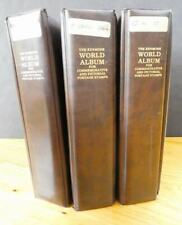 EDW1949SELL : WORLDWIDE Huge Mint & Used, ALL DIFF collection in 3 packed albums
