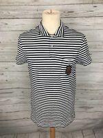 Men's Ralph Lauren Polo Shirt - Size Medium - Striped - Great Condition