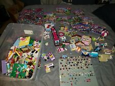 Lego Friends Lot, 16 Lbs., 55+ Minifigures,  Books