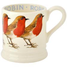 Emma Bridgewater Robin Earthenware Half Pint Mug