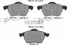 Kit pastiglie freno AnteriorI ORIGINALI TEXTAR 2301802 AUDI A6 A4 SEAT EXEO pr